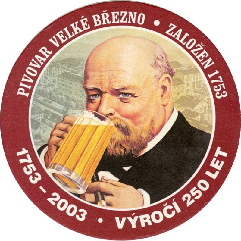 Victor Cibich, muž z etikety piva Březňák (zdroj: google)