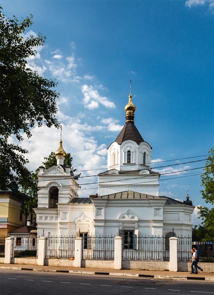 церковь александра невского звенигород приготовить коктейль